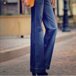 Cabi #394 Wide Leg Trouser Jeans 12 EUC